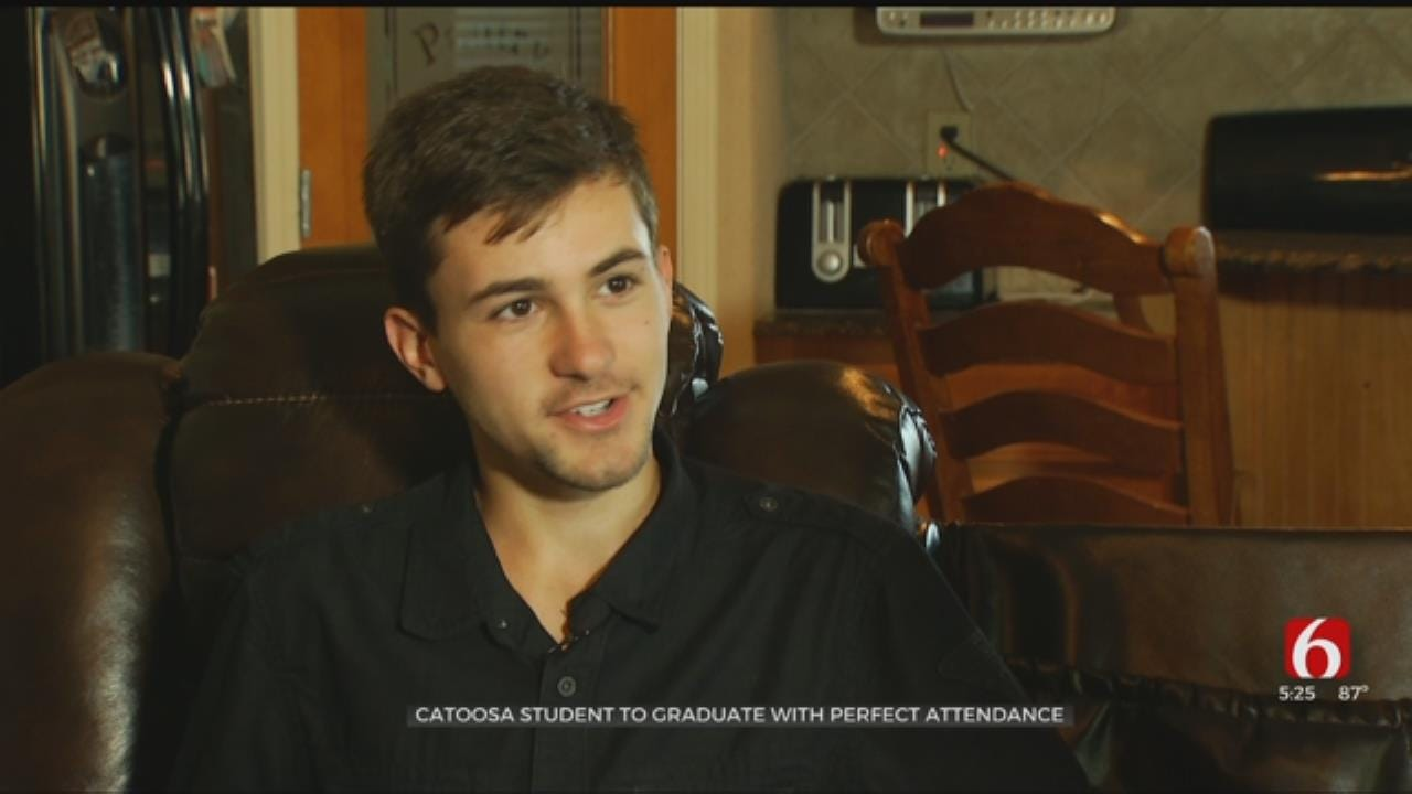 Catoosa Senior To Graduate With Perfect Attendance Record