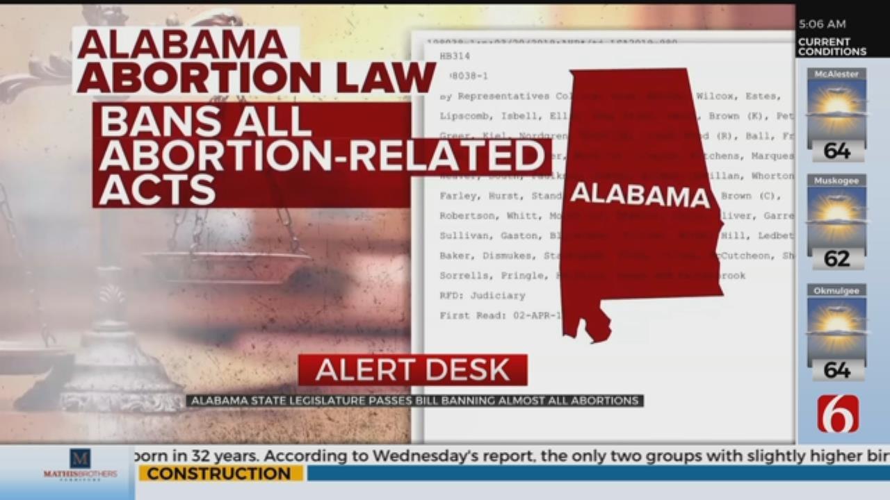 Alabama Passes Near-Total Abortion Ban