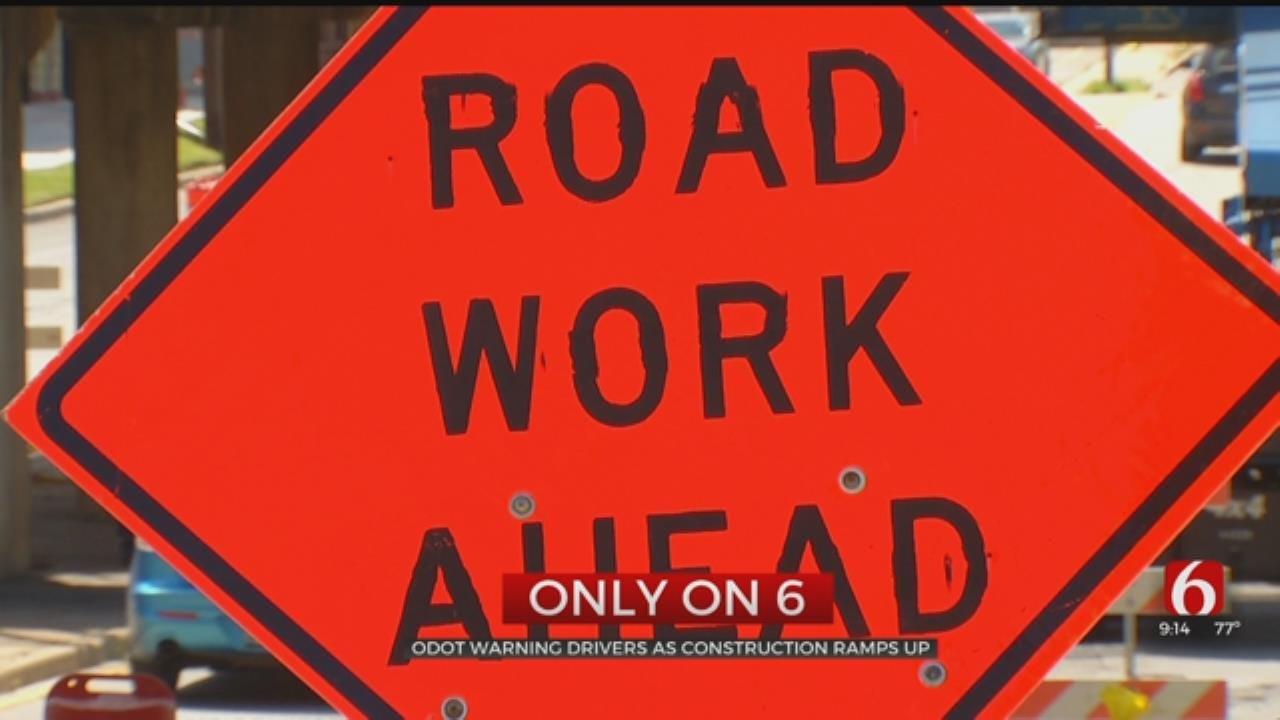 ODOT Warns Drivers At Construction Ramps Up