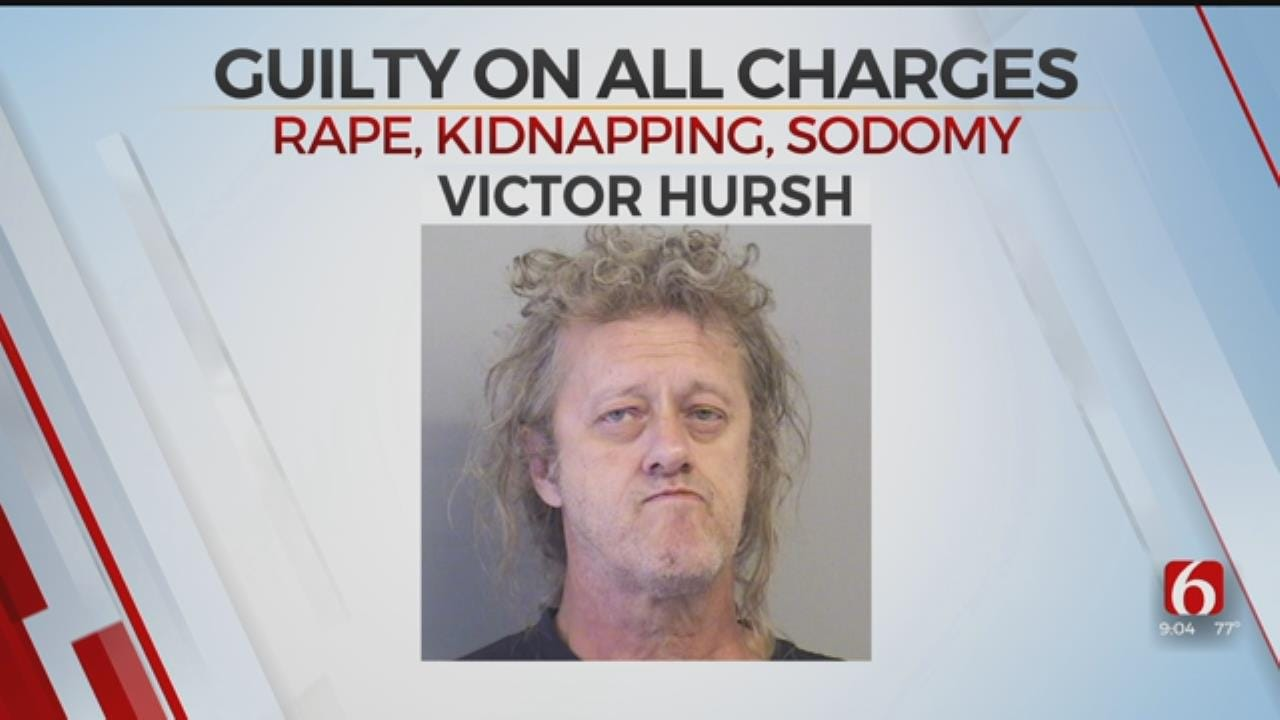 Tulsa Man Charged With Raping Multiple Women Found Guilty