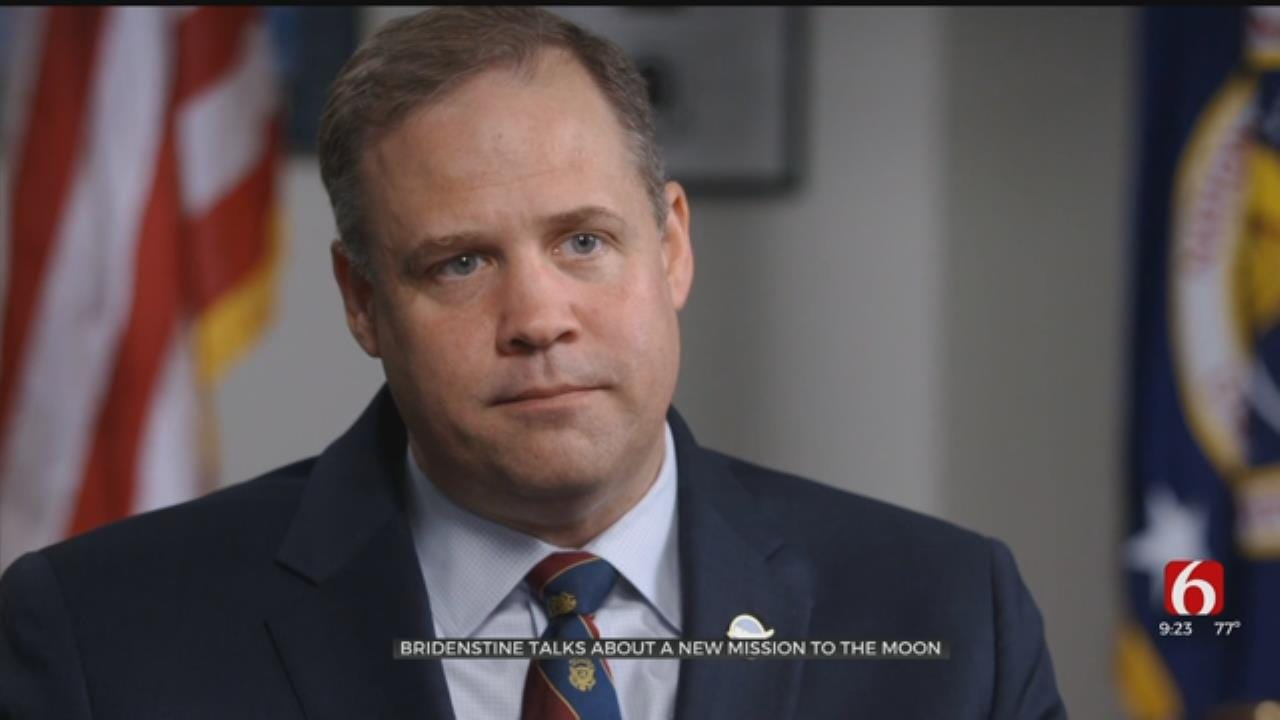 NASA Chief Vows To Send First Woman To The Moon By 2024