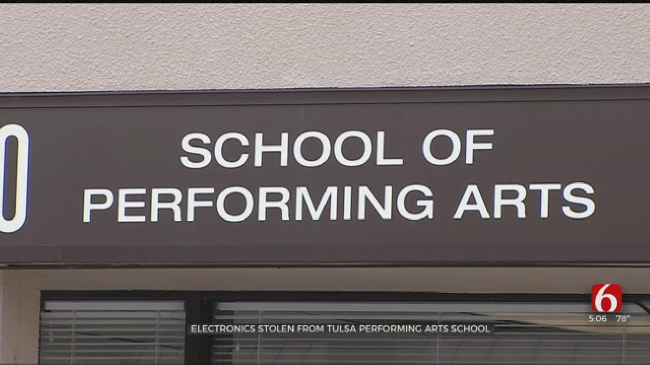 Electronics Stolen From Tulsa Performing Arts School