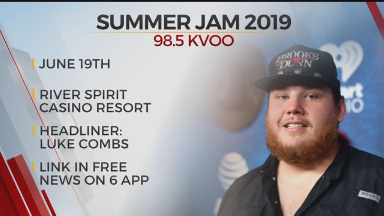 KVOO Announces 2019 Summer Jam Concert