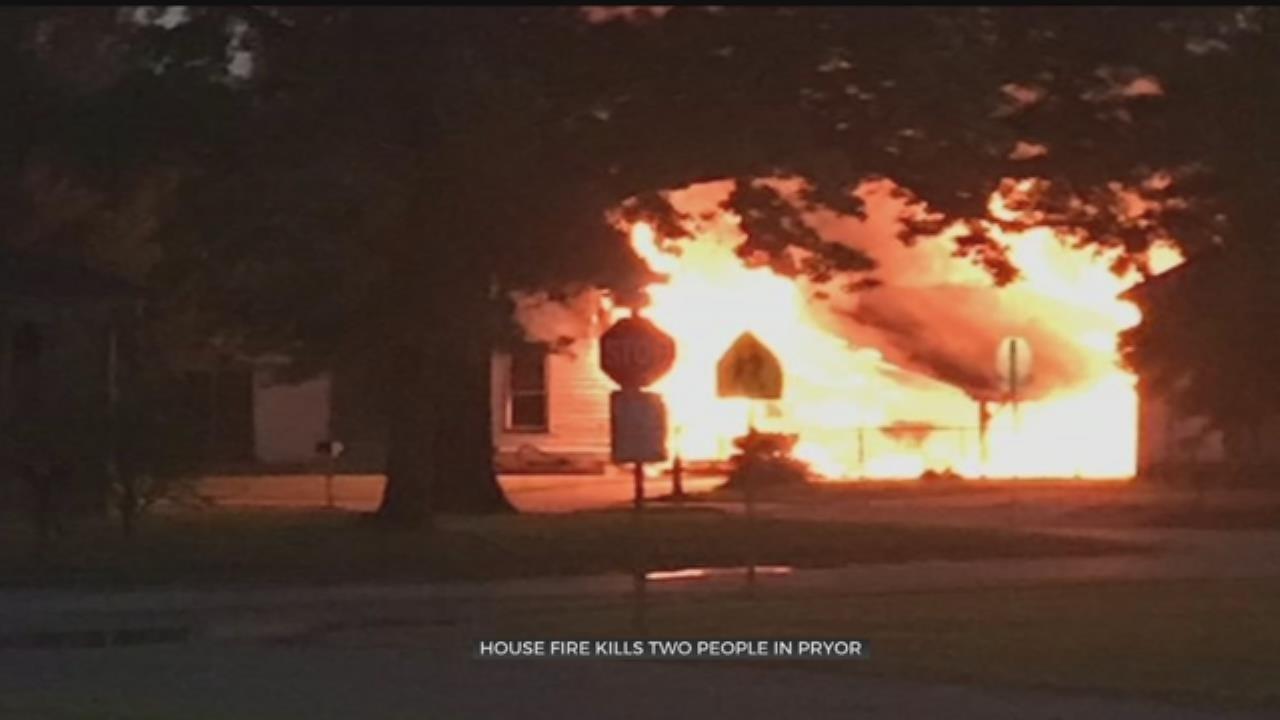 House Fire Kills 2 In Pryor