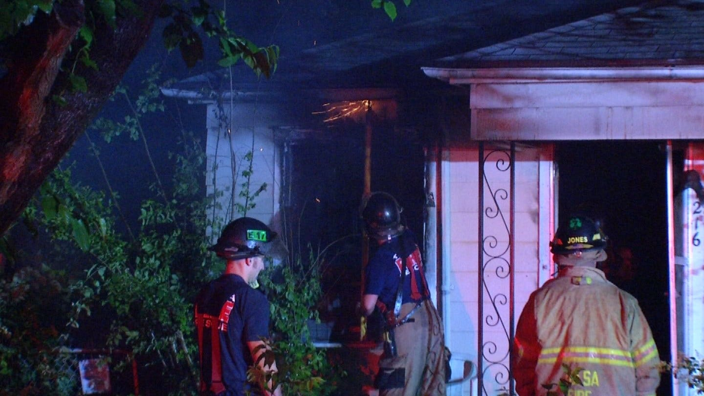 Tulsa Family Loses Home And 2 Pets To Fire