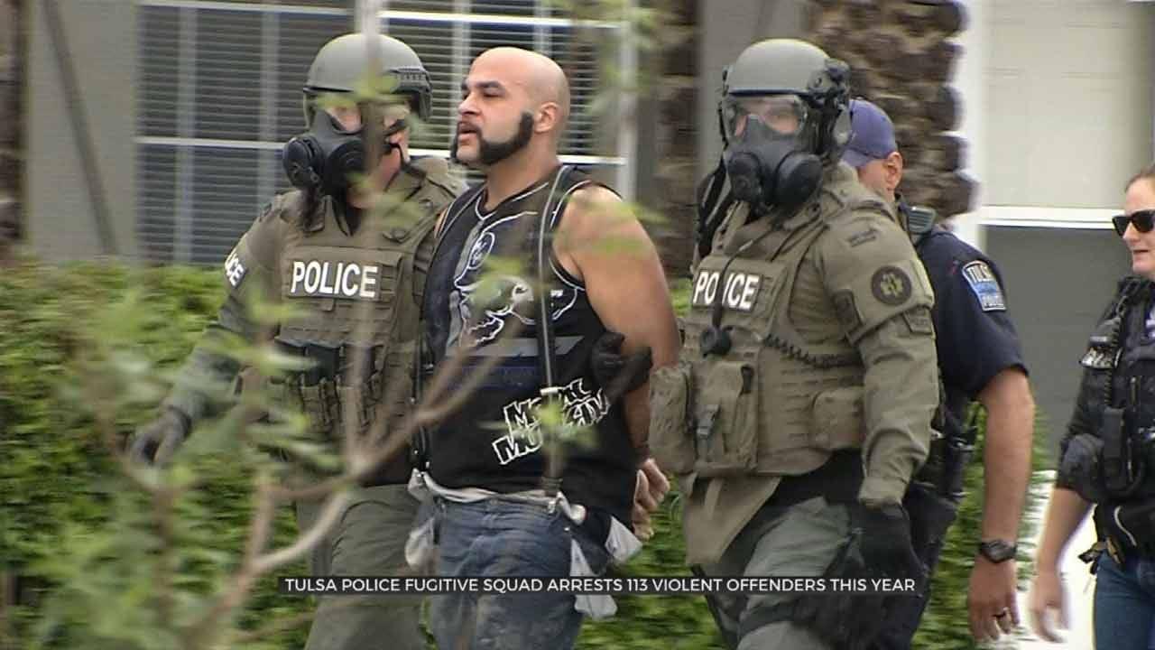 Tulsa Fugitive Squad Makes 5 Big Arrests In One Week