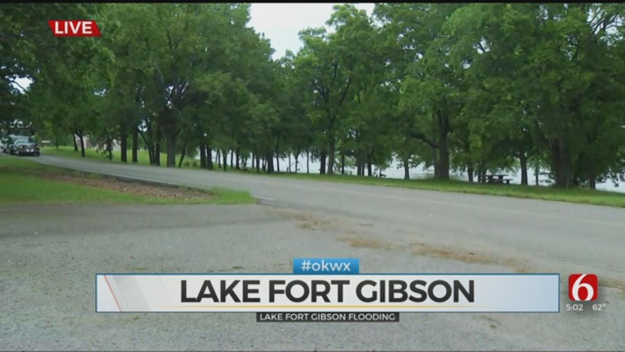 High Water Puts Damper On Boating At Fort Gibson Lake