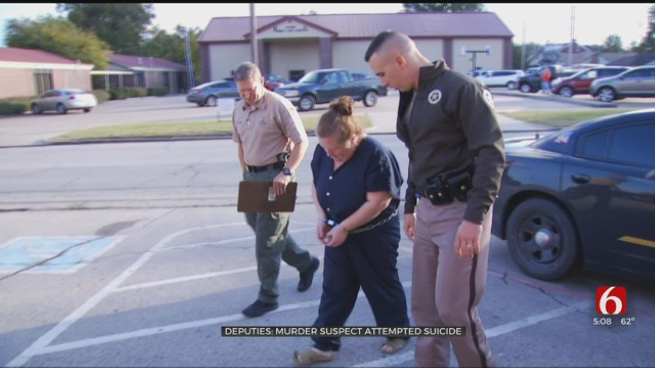 Beggs Mom Charged With Killing Her Children Attempts Suicide, Authorities Say