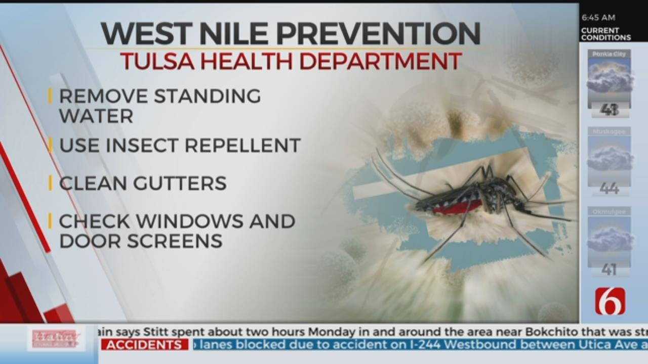 Tulsa Mosquitoes Test Positive For West Nile Virus