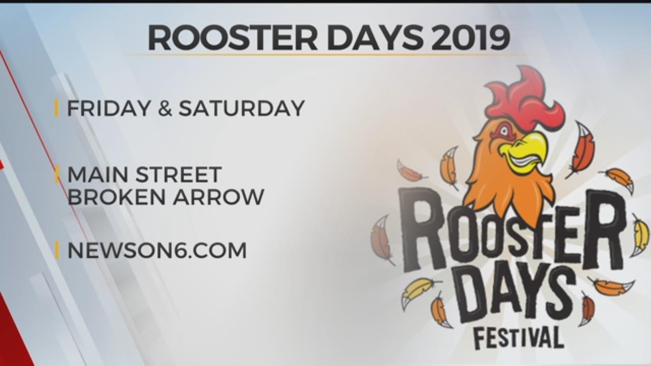 Broken Arrow's Rooster Days Start