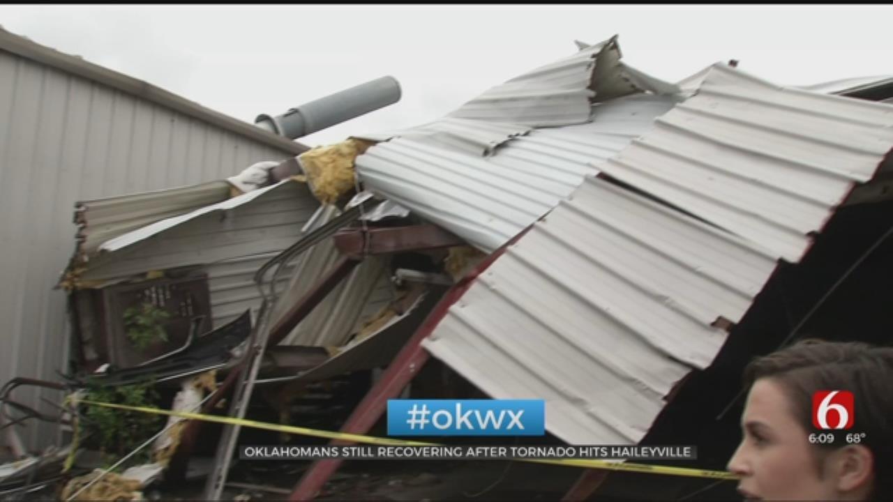 Oklahomans Still Recovering After Tornado Hits Haileyville