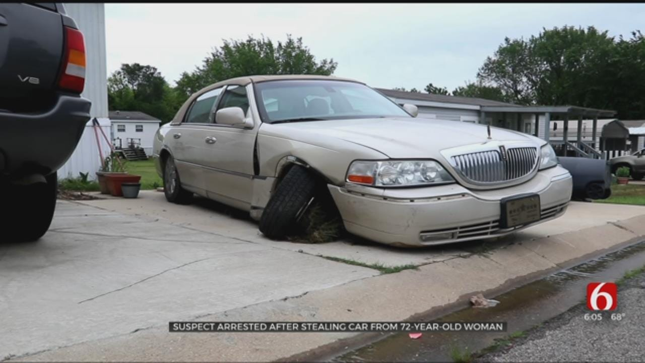 Suspect Arrested After Stealing Car From 72-Year-Old Glenpool Woman