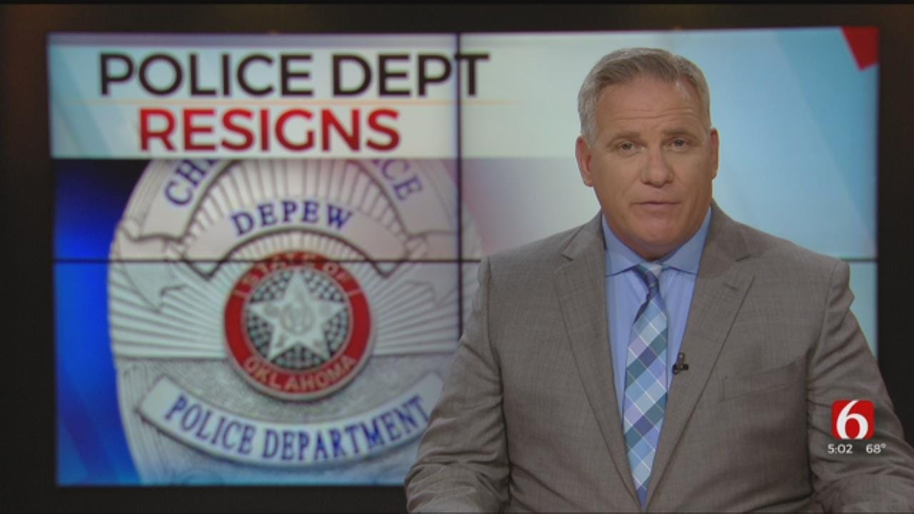 Entire Depew Police Department Resigns