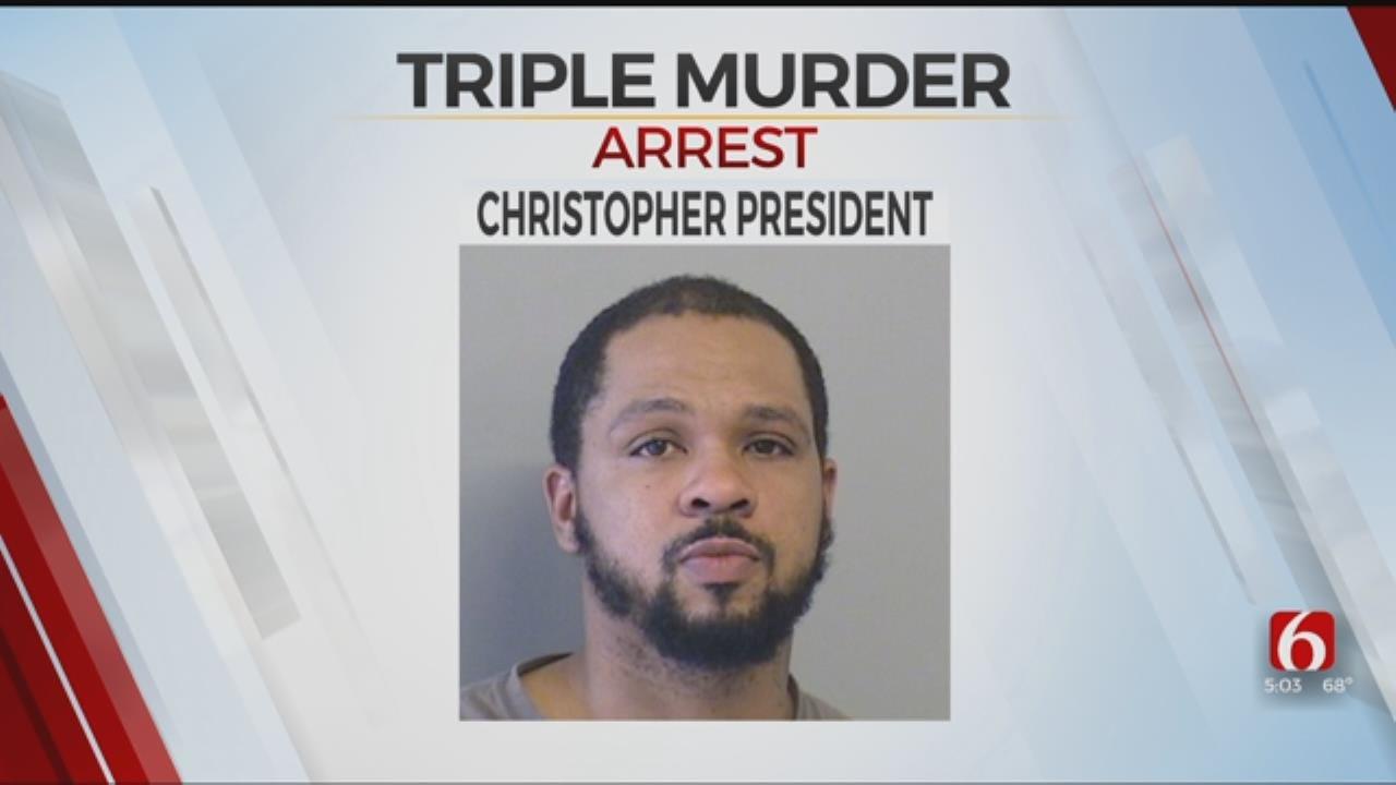 Tulsa Police Make Arrest In 2017 Triple Murder