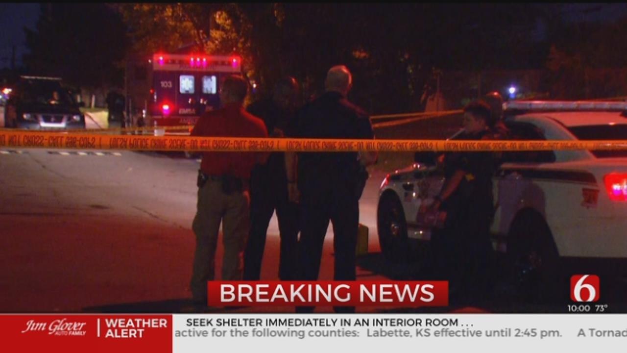 UPDATE: Tulsa Police Investigating Stabbing Homicide At Brighton Apartments