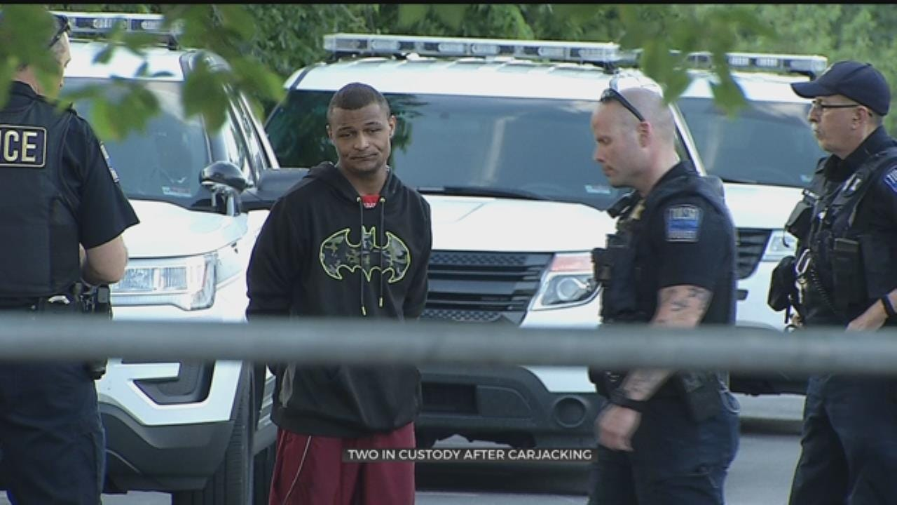 Tulsa Police: 2 In Custody After For Armed Robbery And Carjacking