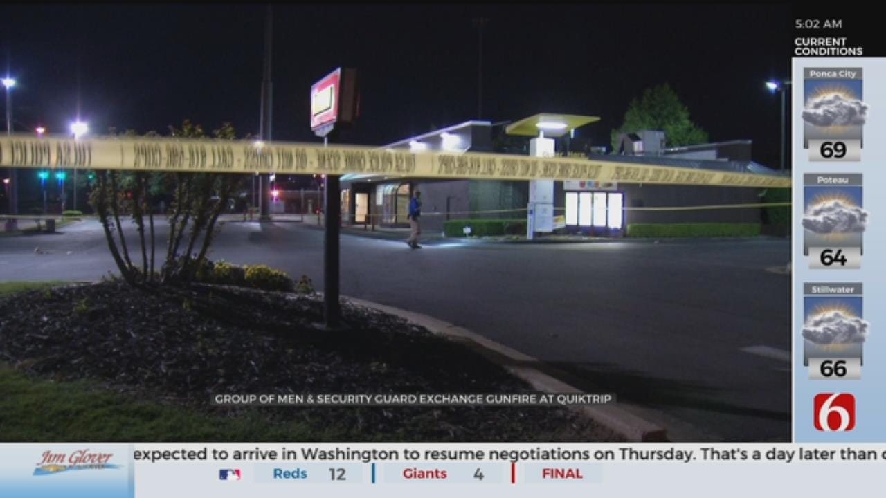 Tulsa Police: Shots Fired At QuikTrip