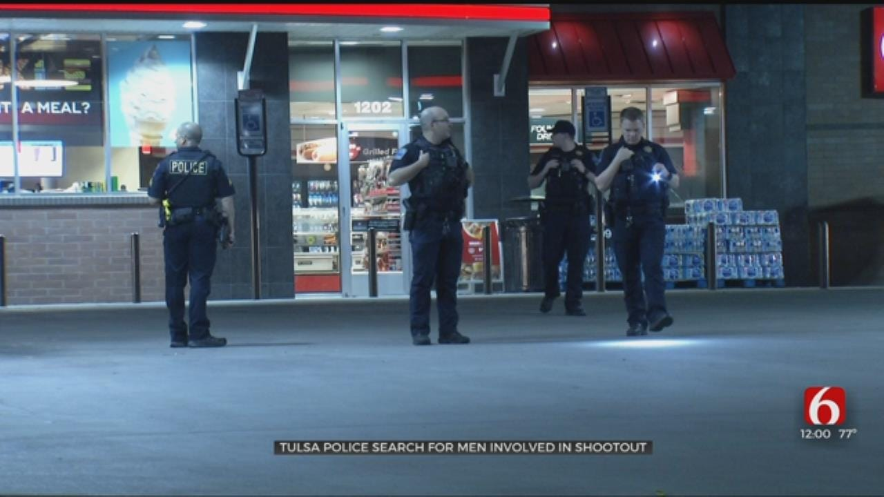 Tulsa Police Look For Suspects In QuikTrip Shootout