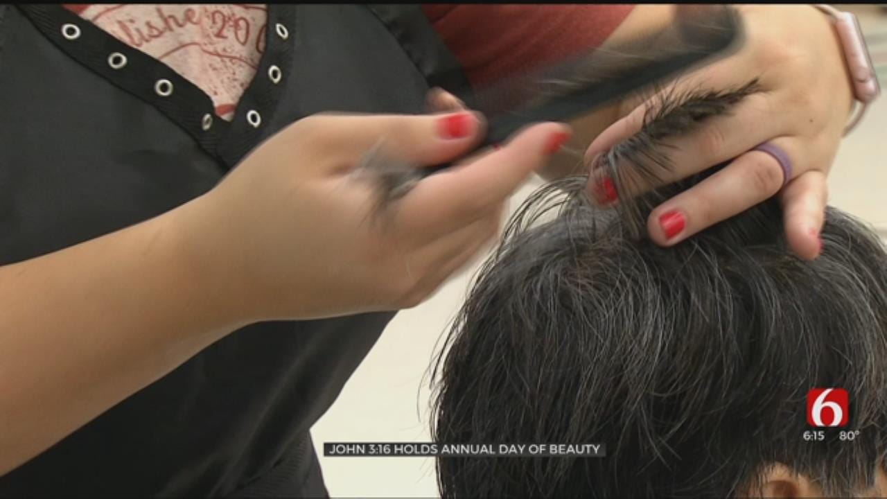 John 3:16 Mission In Tulsa Holds 'Day Of Beauty' For Homeless Women