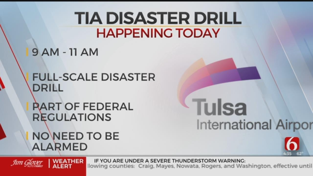 Tulsa International Airport To Hold Disaster Drill