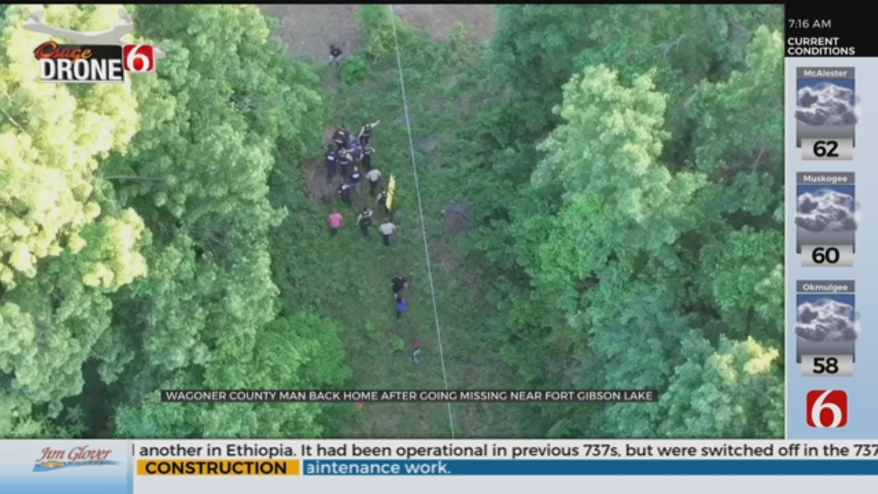 News On 6 Osage Drone Helps Find Missing Wagoner County Man