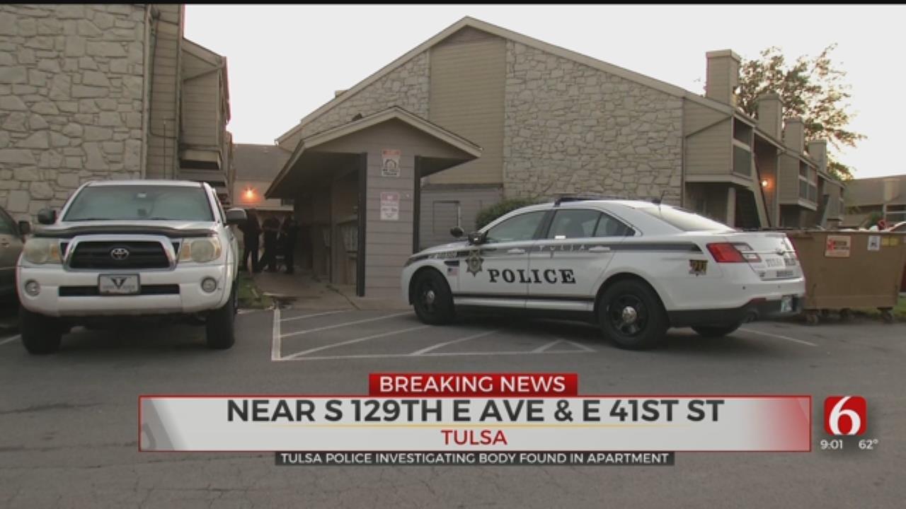 Tulsa PD: Body Found At Tulsa Apartment Complex