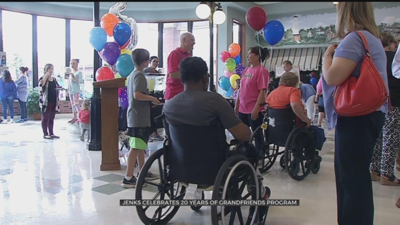 Jenks Celebrates 20 Years Of 'Grandfriends' Program