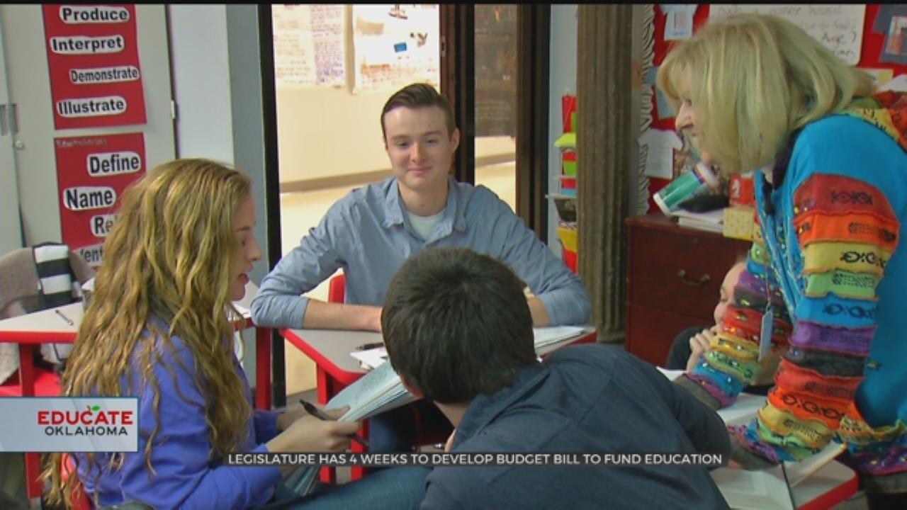 Oklahoma Education Funding Still Up In The Air