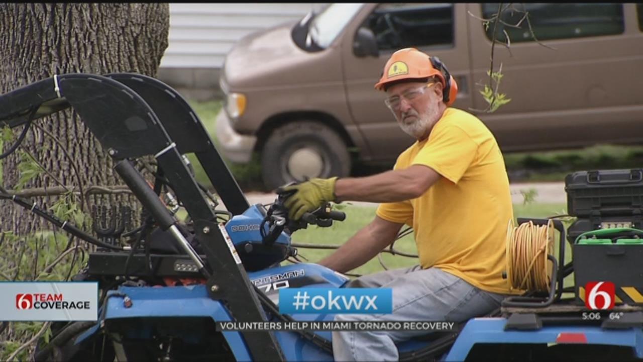Volunteers Help In Miami Tornado Recovery