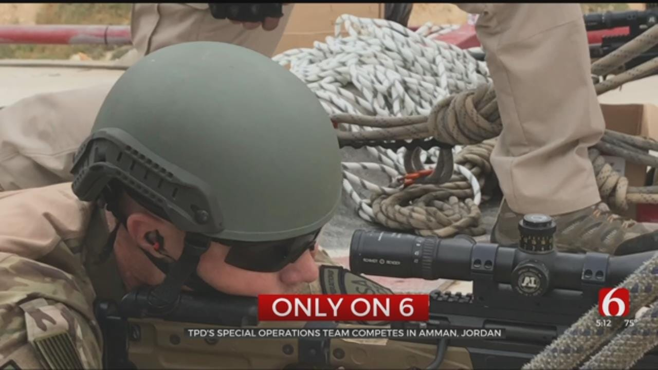 TPD's Special Operations Team Competes In Amman, Jordan