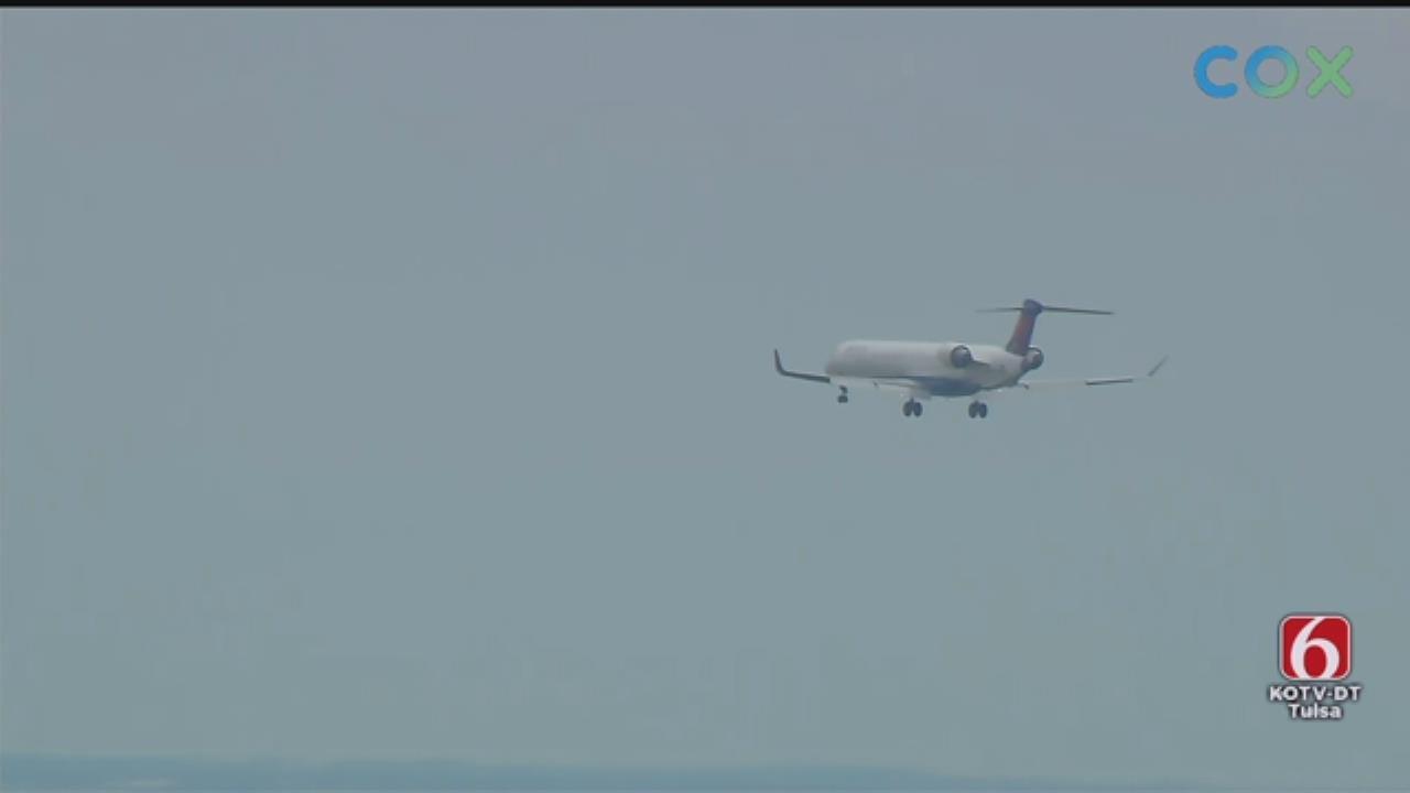 Airliner Makes Emergency Landing At Tulsa International Airport