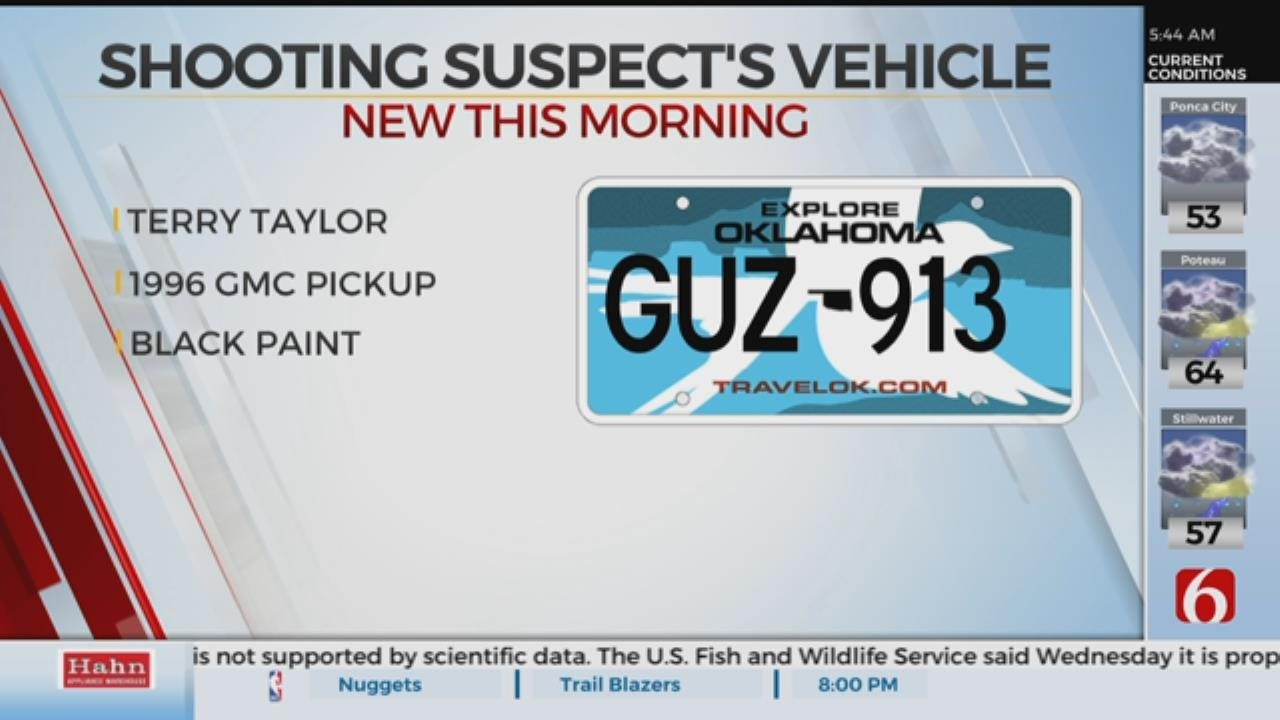 TCSO Looking For Person Of Interest After Man Shot