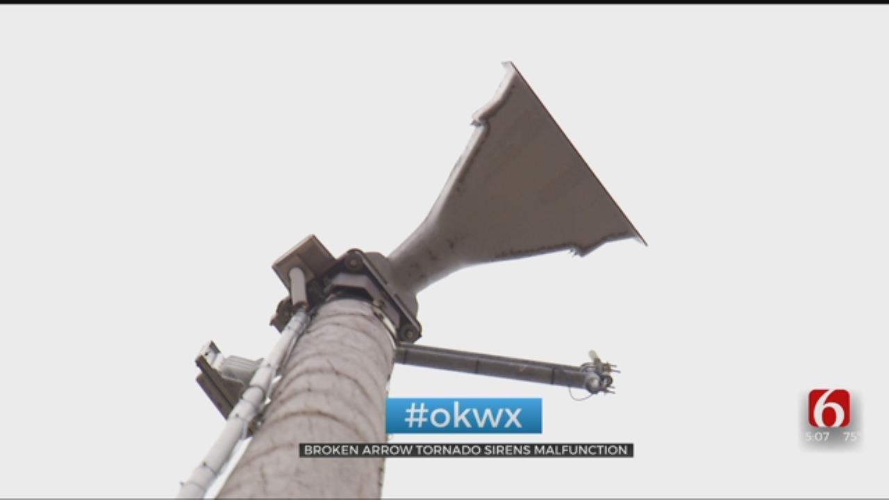 Residents Worried After Broken Arrow Tornado Siren Goes Off Accidentally