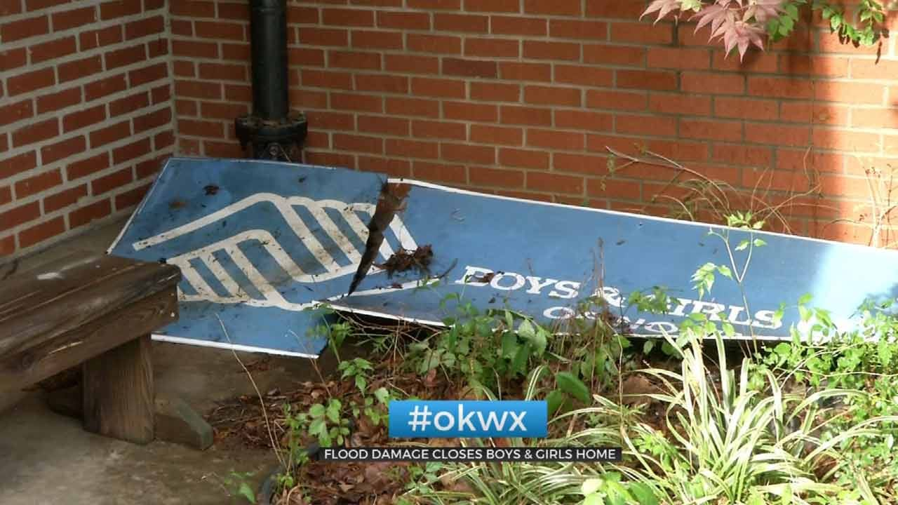Boys & Girls Club Of Nowata Cleaning Up From Storm Damage