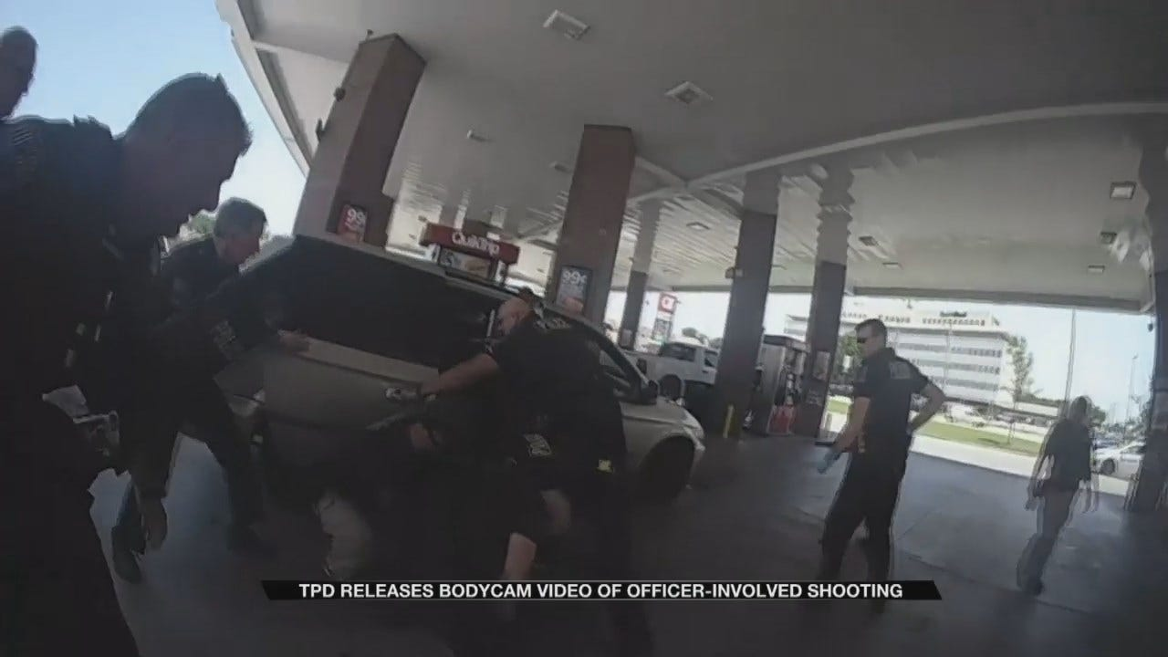 Police Bodycam Video Shows Encounter That Left Officer & Suspect Wounded