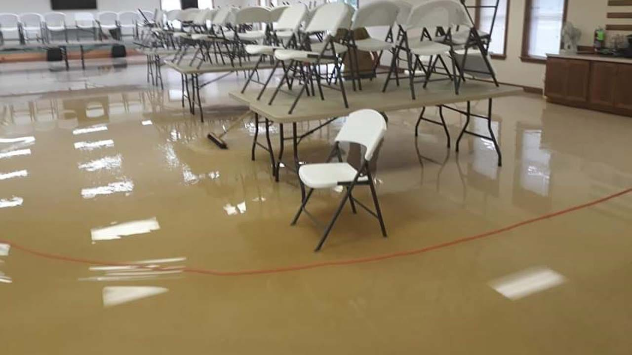 Pawnee County Church Cleaning Up After Flooding