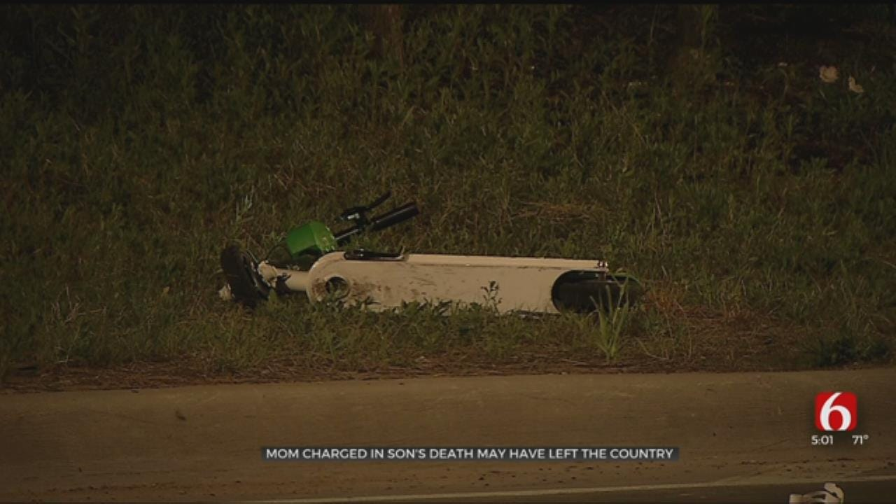 Mother Charged In Scooter Death May Be Fleeing Country, U.S. Marshals Say