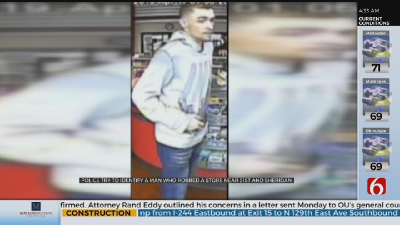 Police: Suspect Robbed Tulsa Store Twice