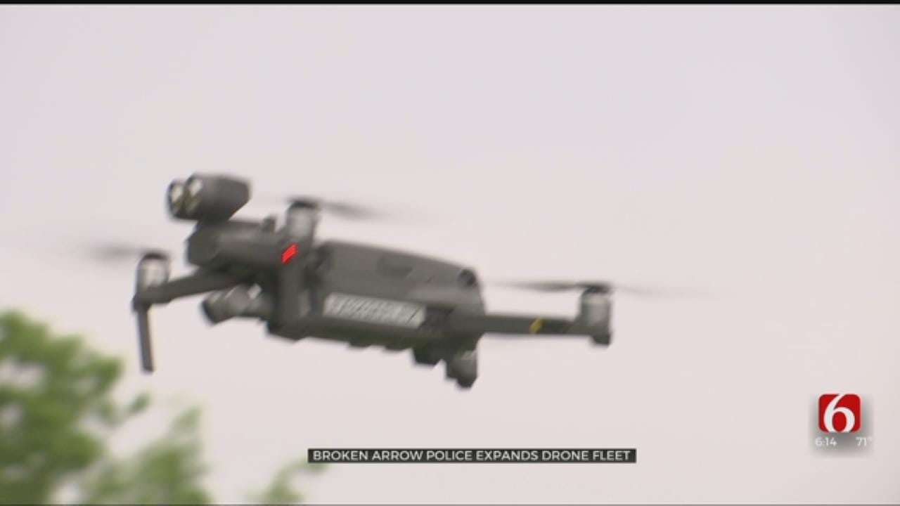 Broken Arrow Police Expanding Fleet Of Drones