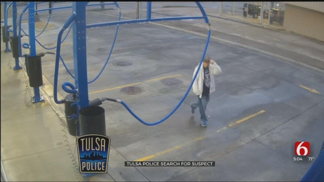 TPD: Suspect Stole Vehicle During Car Wash