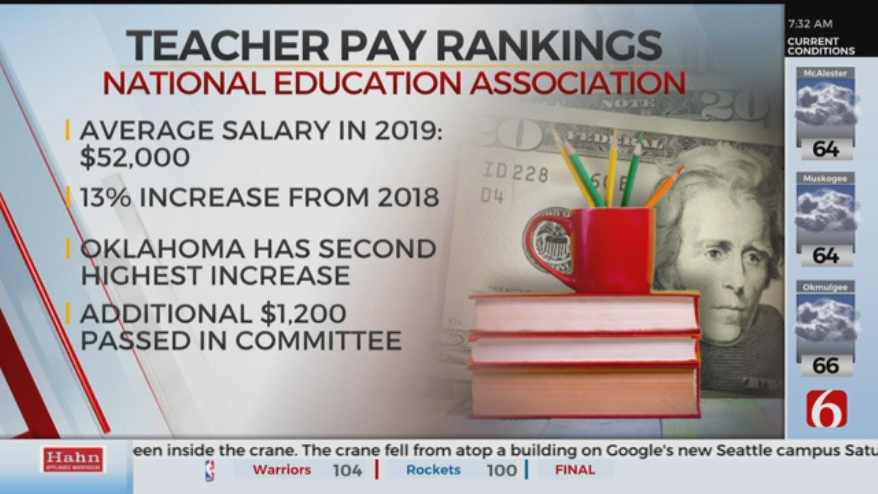 Oklahoma Teacher Pay Expected To Rise In National Rankings