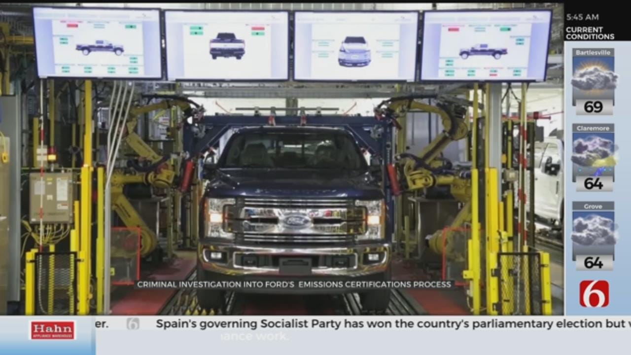 Ford Under Criminal Investigation Into Vehicle Emissions, Gas Mileage Certification
