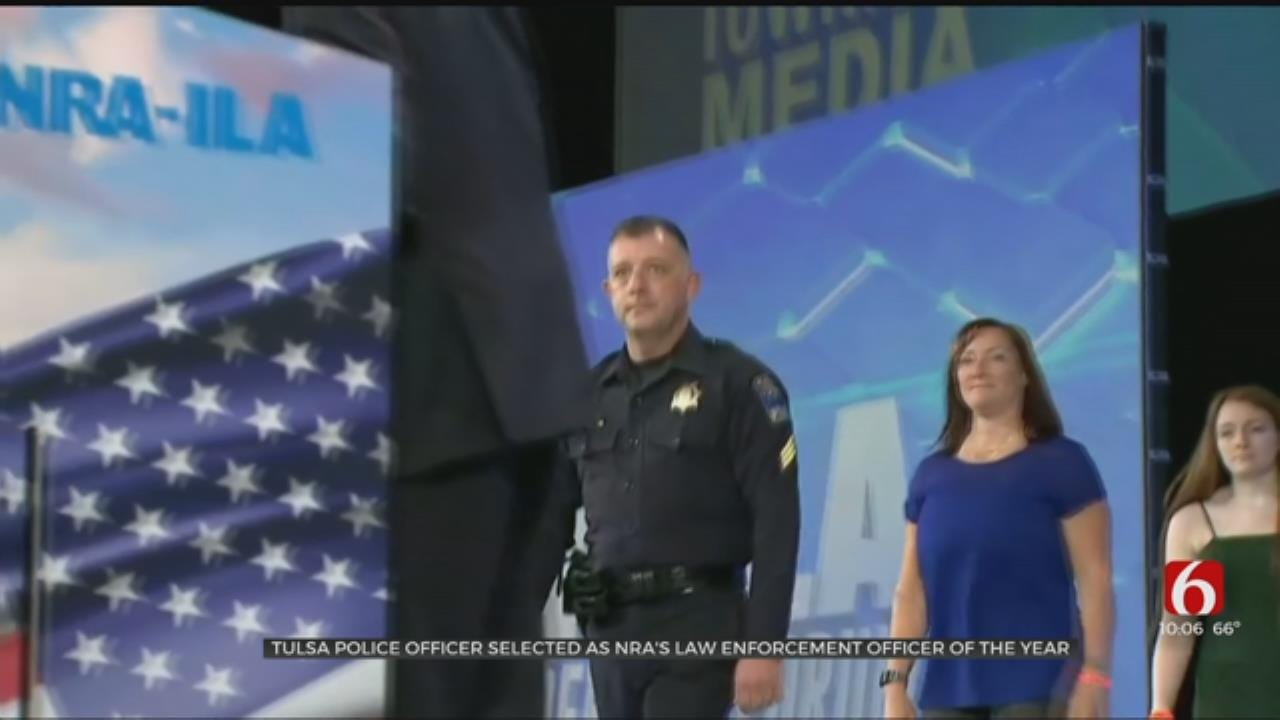 Tulsa Police Sergeant Is NRA Officer Of The Year