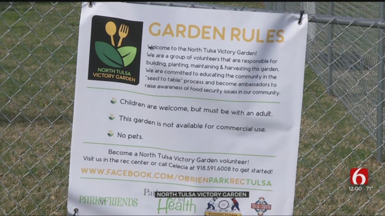 Community Garden To Help Bring Fresh Food To North Tulsa