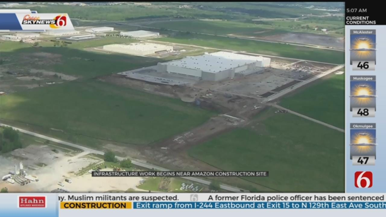 Tulsa's Amazon Fulfillment Center Set To Open In 2019