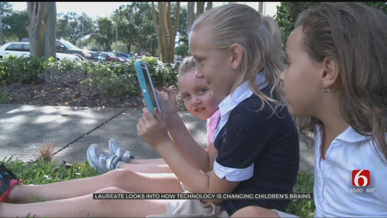 Tulsa Study Looks At Impact Of Screen Time On Kids' Brains