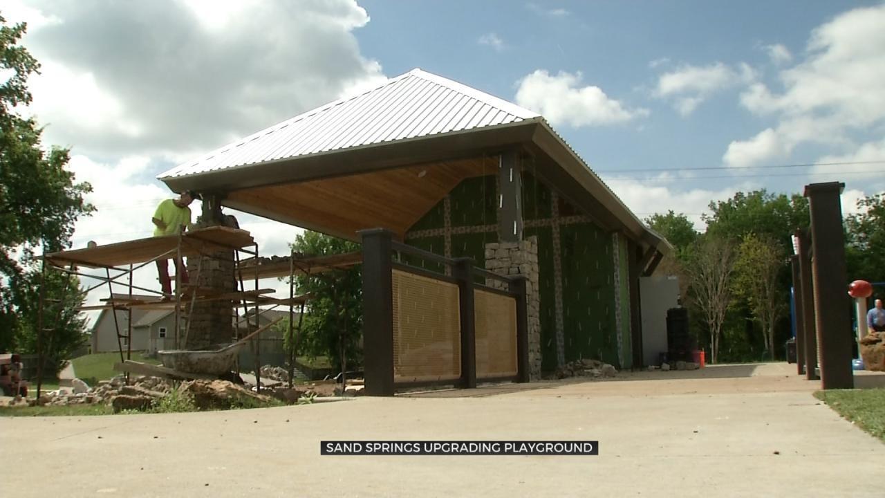 Sand Springs Parks Department Upgrades Pratt Civitan Park