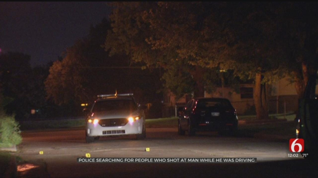 Man's Car Shot At Overnight, Tulsa Police Say