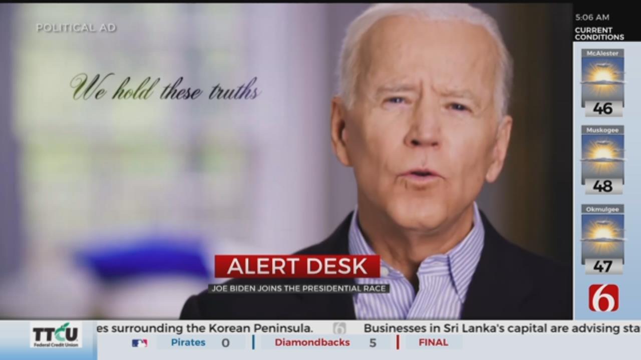 Former Vice President Joe Biden Launches 2020 Presidential Campaign