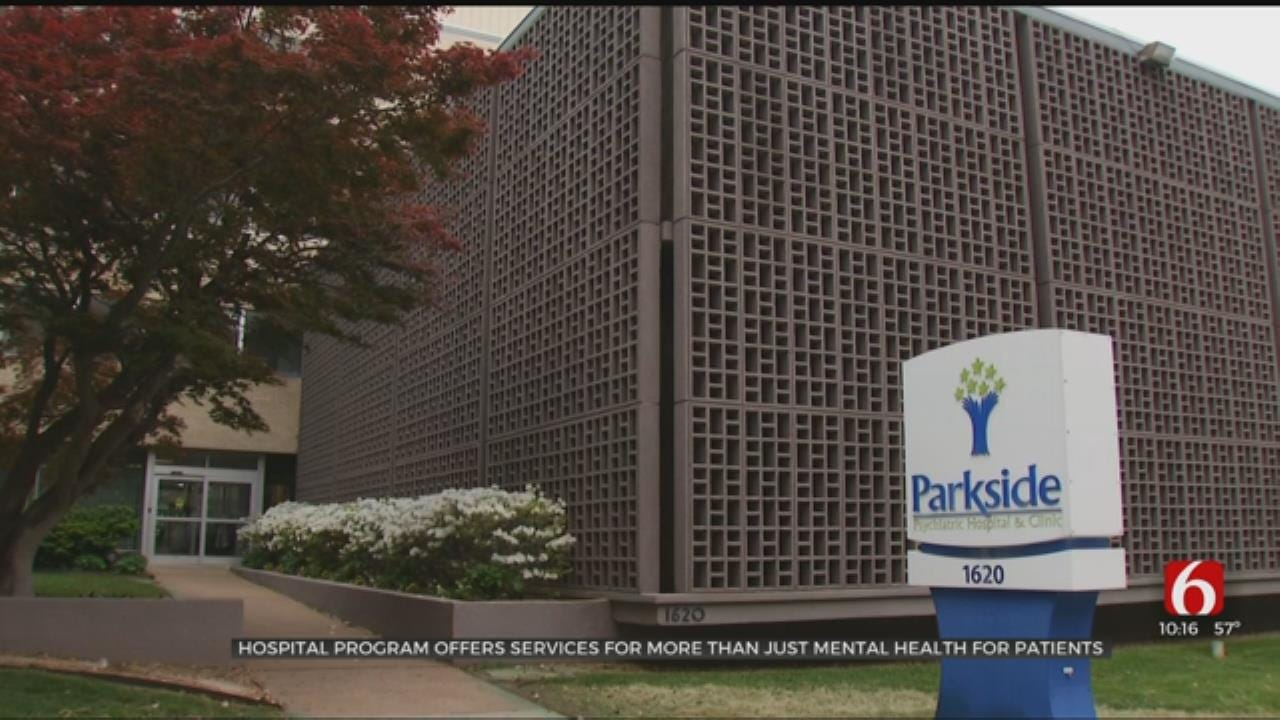 Parkside Psychiatric Hospital Shows Patients Someone Is 'By Their Side'